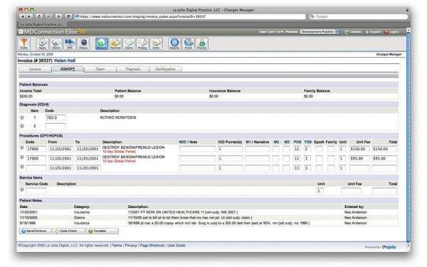 MDConnection Practice Management Software