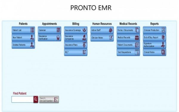PRONTO EMR Software