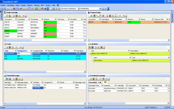 SequelMed EHR Software