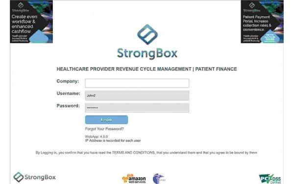 StrongBox RCM & Patient Finance Software