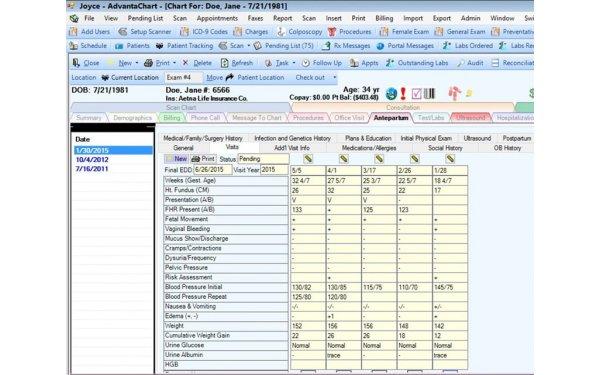 AdvantaChart EMR Software