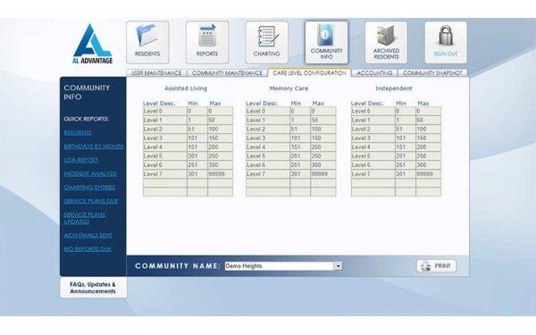 AL Advantage EHR Software