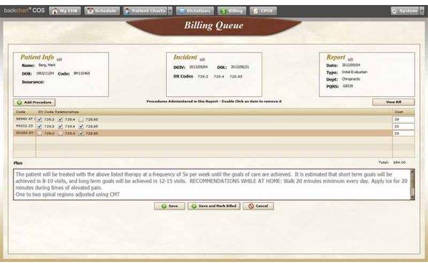 BackChart EHR Software