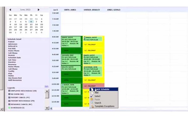 Quick schedule