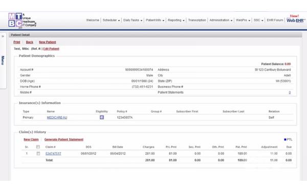 ChartsPro EHR Software