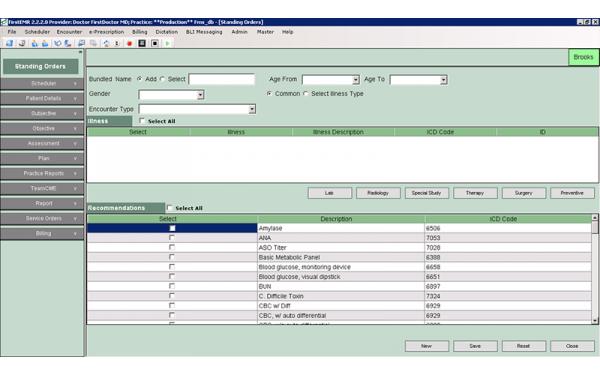 FirstEMR Software