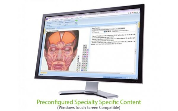 Reconfigured specialty specific content