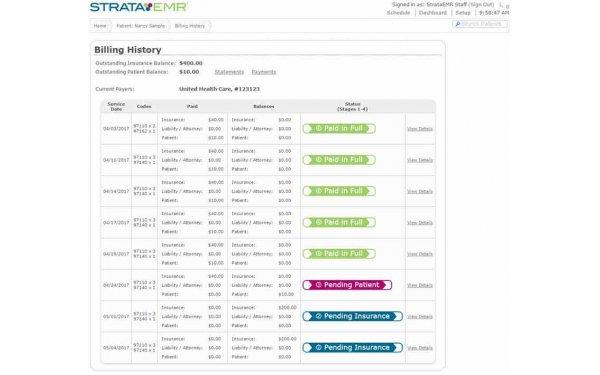 StrataPT EMR Software