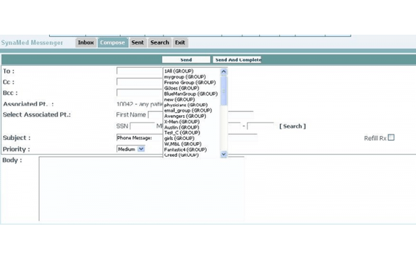 SynaMed EHR Software